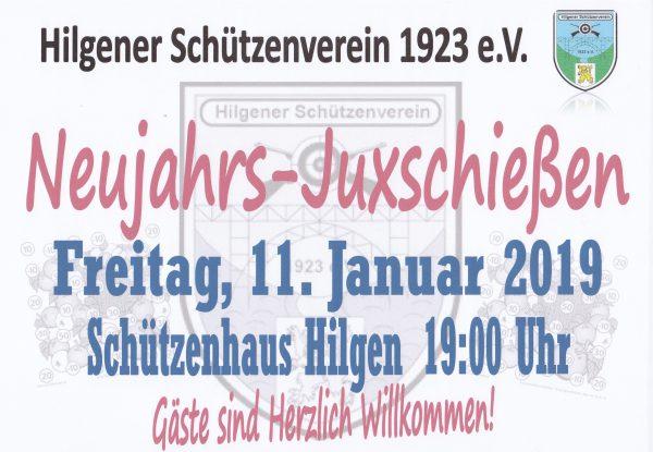 Neujahrs-Juxschießen @ Schützenhaus